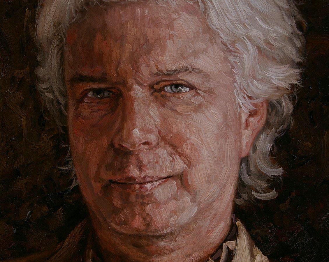 Portret man, mannenportret door portretschilder Rene Tweehuysen.: www.renetweehuysen.nl/portret-man-c86