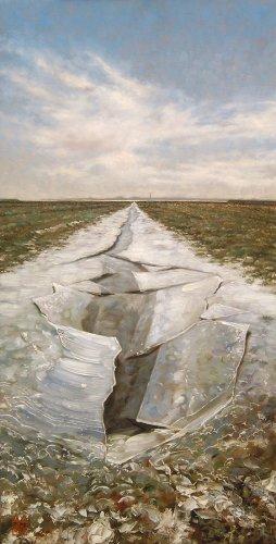 Noorderleeg, ijsschotsen